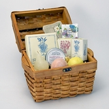 Monticello Butterfly & Flowers Gift Basket