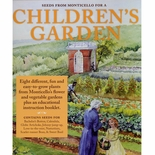 Monticello Children's Garden Kit