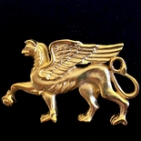 Monticello Entrance Hall Griffin Pin