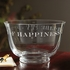 Monticello Etched Crystal Bowl