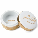 Monticello Friendship Porcelain Box