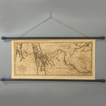 Monticello Lewis and Clark Map