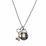 Monticello Lock & Key Necklace