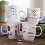 Monticello Quote Mugs