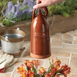 Monticello Redware Thumb Pot Sprinkler