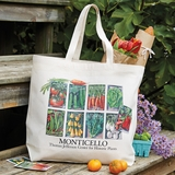 Monticello Seed Pack Cotton Tote