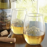 Monticello Stemless Glass Set