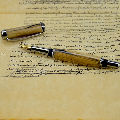 Tulip Poplar Fountain Pen