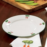 Monticello Vegetable Garden Salad Plates (Set of Four)