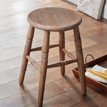 Oak Farm Stool
