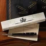 Ox Bone Pen Box and Horn Pen