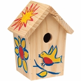 Paint Your Birdhouse Kit