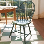 Painted Bow-Back Windsor Chair
