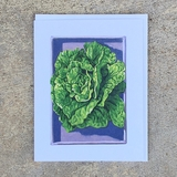 Paris White Cos Lettuce Notecard