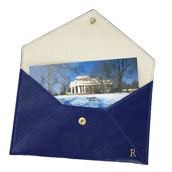 Personalized gifts personalized leather envelope quick look negle Gallery