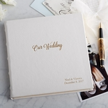 Personalized Wedding Memory Book