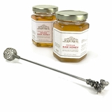 Pewter Bee Honey Dipper
