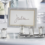 Pewter Julep Cup Place Card Holders