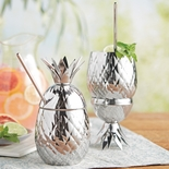 Pineapple Stainless Steel Cocktail Tumbler