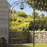 Pineapple Hospitality Wrought Iron Arbor