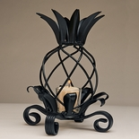 Wrought Iron Pineapple Lantern