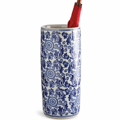 Pinwheel Porcelain Umbrella Stand