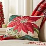 Poinsettia Pillow