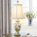 Porcelain Birds & Butterflies Accent Lamp