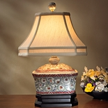 Porcelain Box Lamp