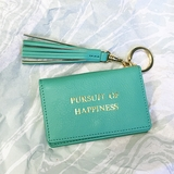 """Pursuit of Happiness"" Keychain Wallet"