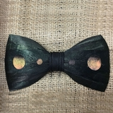 Rooster & Pheasant Feather Bow Tie