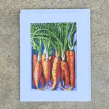 Rouge Demi-Longue de Chantenay Carrot Notecard