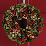 Scented Cinnamon Stick Wreath
