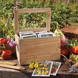 Seed Packet Box with Heirloom Seeds