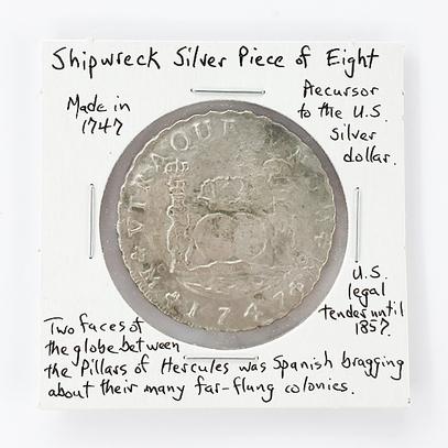 Shipwreck Silver Pieces of Eight