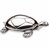 Silver Turtle Music Box
