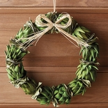 Small Artichoke Wreath