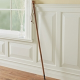 Solid Chestnut Hiking Staff