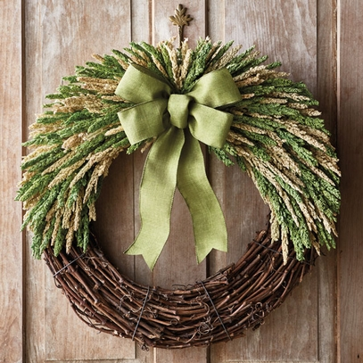 Sorghum Wreath 22