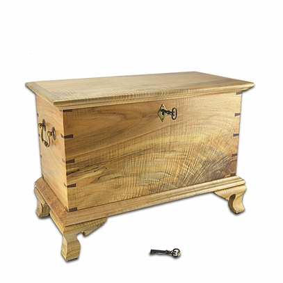 Spalted Curly Maple Keeping Chest 2015-3