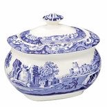 Spode Blue Italian Sugar Bowl