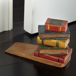 Stacked Books Doorstop