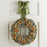 "Sunset Garden Wreath 16""D"
