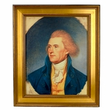 Thomas Jefferson Framed Portrait by Charles Willson Peale