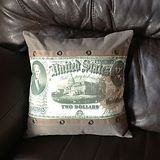 Two-Dollar Bill Pillow