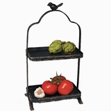 Two-Tier Songbird Display Stand