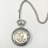 Walking Liberty Pocket Watch