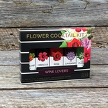 Wine Lover's Floral Syrup Kit