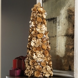 Wood Rose Topiary