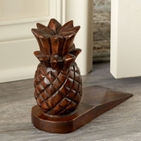 Wooden Pineapple Doorstop